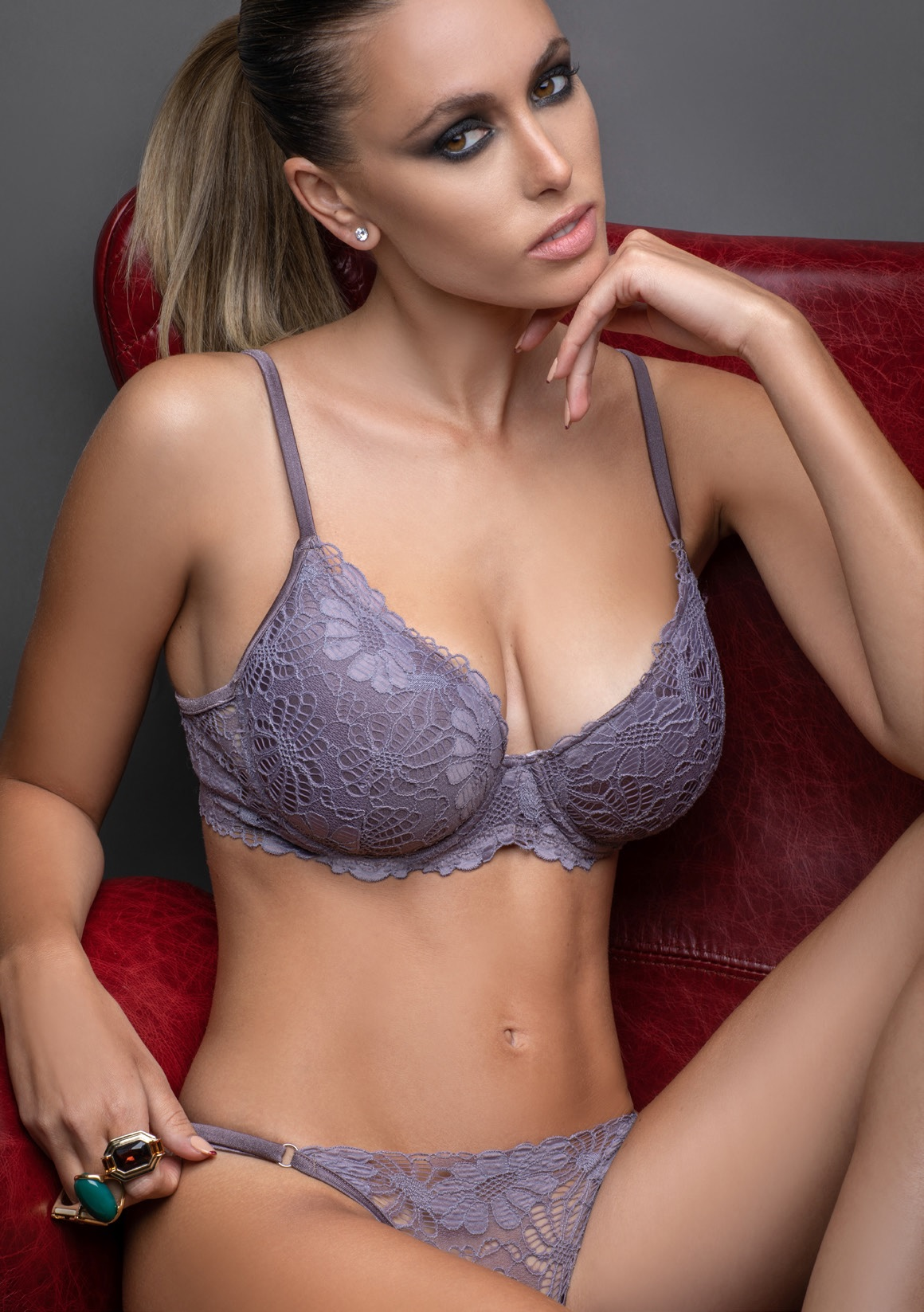 lenceria elektra - art L5688 - soft con base y less regulable